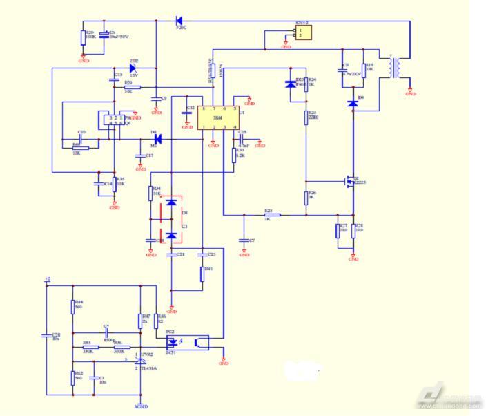 安川g7变频器开关电源原理图