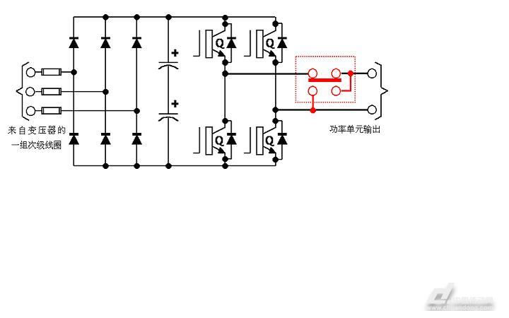 高压变频器功率单元的机械旁路原理