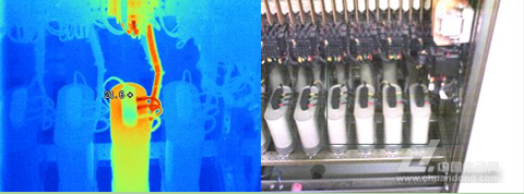 电容器检测—工业红外热像仪